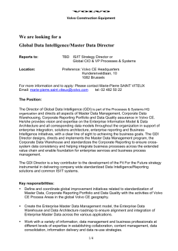 Global Data Intelligence/Master Data Director