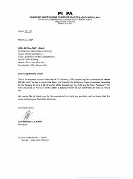 13th Epira Implementation Status Report