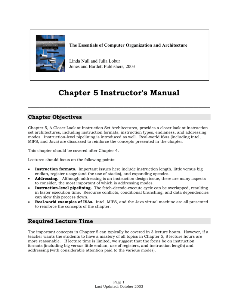 chapter 5 instructor s manual rh studylib net