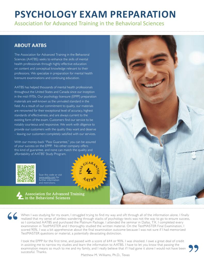 AATBS EPPP Brochure 2014