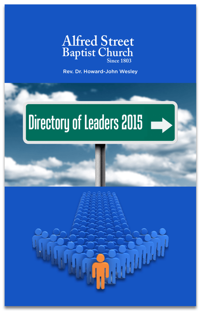 Directory of Leaders - Alfred Street Baptist Church