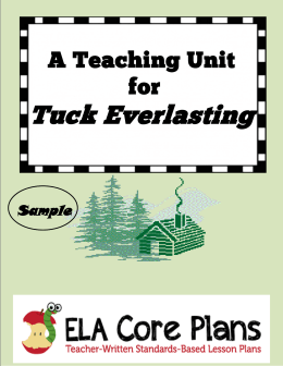 tuck everlasting essay outline Tuck everlasting essays the book that i have read is tuck everlasting the  author of the book is natalie babbitt the book has 139 pages the characters in  the.