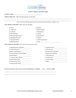 P: CCC Forms/Front Office/New Patient Forms Revised 6/18/2014 1