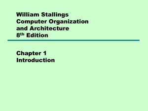 William Stallings Computer Organization and Architecture 8th