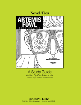artemis fowl - Learning Links
