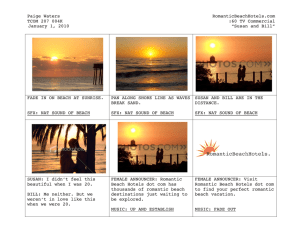 TV Commercial Storyboard Example