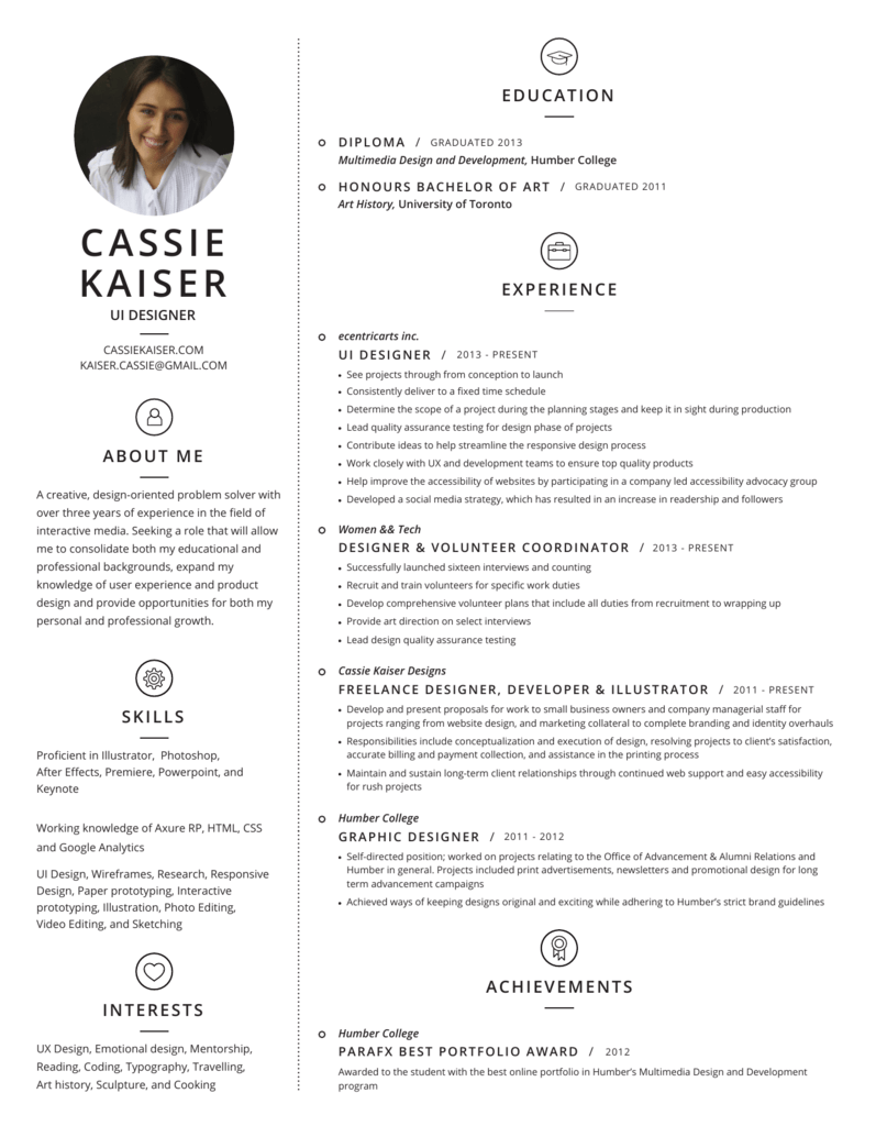 Resume Cassie Kaiser