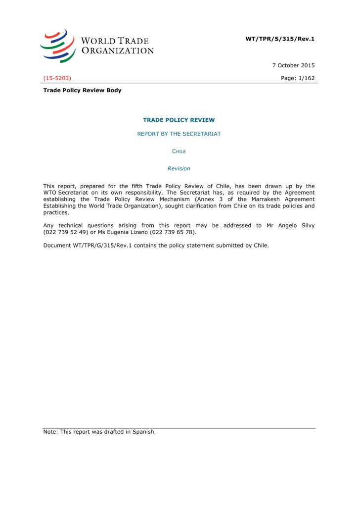 English Wto Document Dissemination Facility