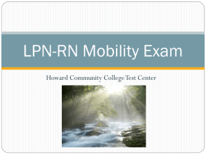 HESI Mobility PowerPoint - Howard Community College