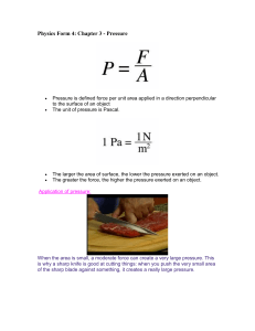 Physics Form 4: Chapter 3