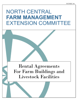 Rental Agreements For Farm Buildings and
