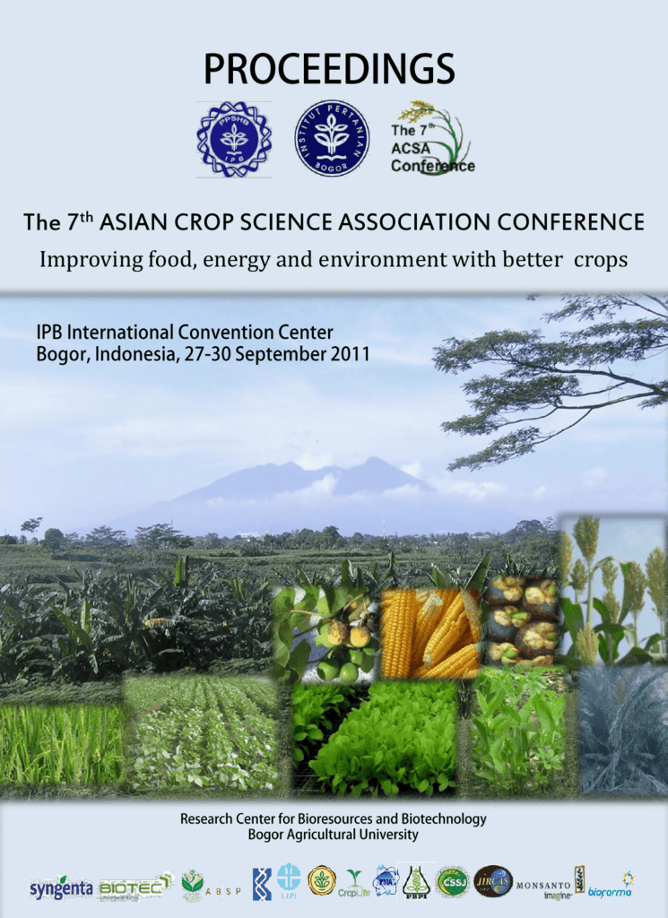 The 7th ASIAN CROP SCIENCE ASSOCIATION CONFERENCE