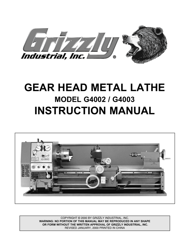 Stupendous Grizzly 12X36 Lathe Manual University Of San Diego Home Pages Ncnpc Chair Design For Home Ncnpcorg