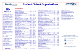 Student Clubs & Organizations - Baruch College