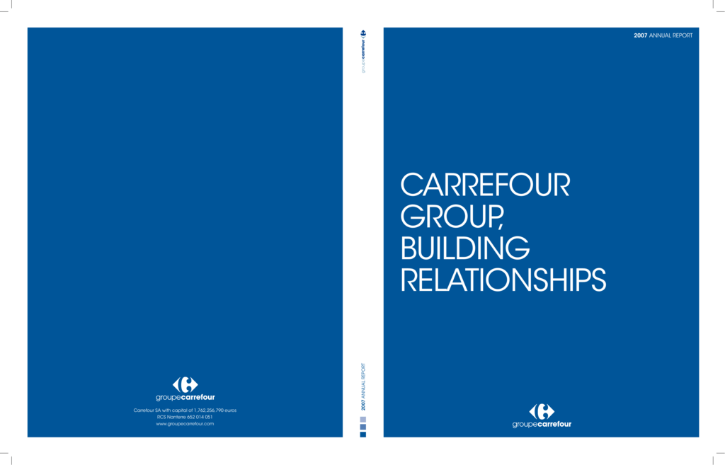 carrefour annual report 2007