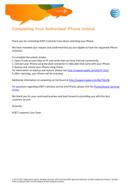 Completing Your Authorized iPhone Unlock - MyCSP