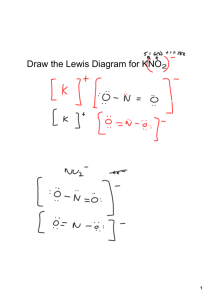 Lewis Diagram, naming flow charts