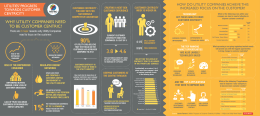 Customer Centricity in Utilities Infographic