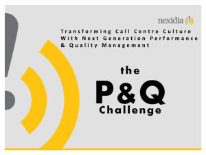 Transforming Call Centre Culture With Next