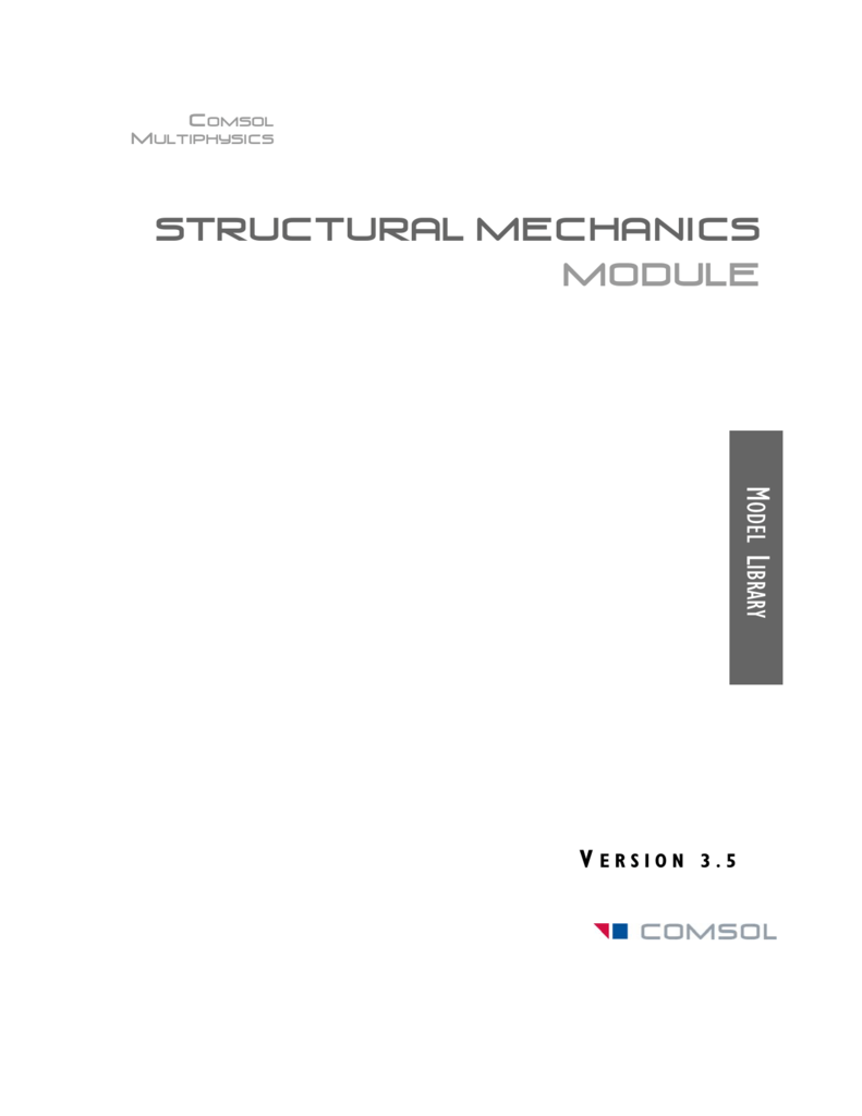 Structural Mechanics Module Synchronizing Selections Between Solidworksr And Comsol Multiphysics