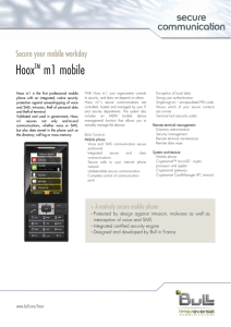 HooxTM m1 mobile