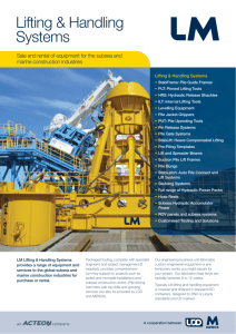 LM Lifting and Handling Systems