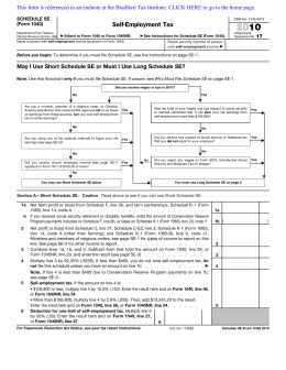 Printable form 1040 schedule se edit, fill out & download hot.