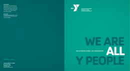 YMCA OF CENTRAL FLORIDA | 2013 ANNUAL REPORT