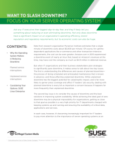 focus on your server operating system