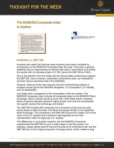 NASDAQ Net Order Imbalance SnapShot (NOIS)