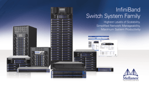 InfiniBand Switch System Family