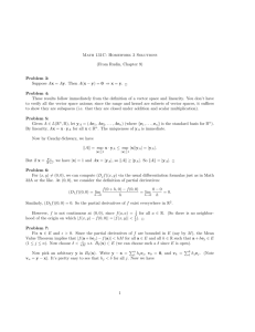 Math 131C: Homework 3 Solutions (From Rudin, Chapter 9