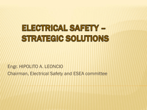 electrical safety - Institute of Integrated Electrical Engineers of the