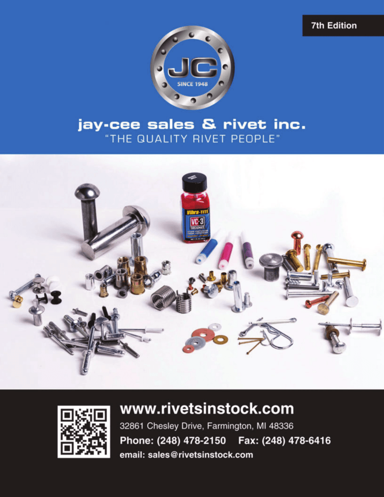 Material: Steel-Yellow Zinc Grip Range: .027-.165 100 Piece Box Ribbed K Series Rivet Nuts Thread Size: 1//4-20 UNC