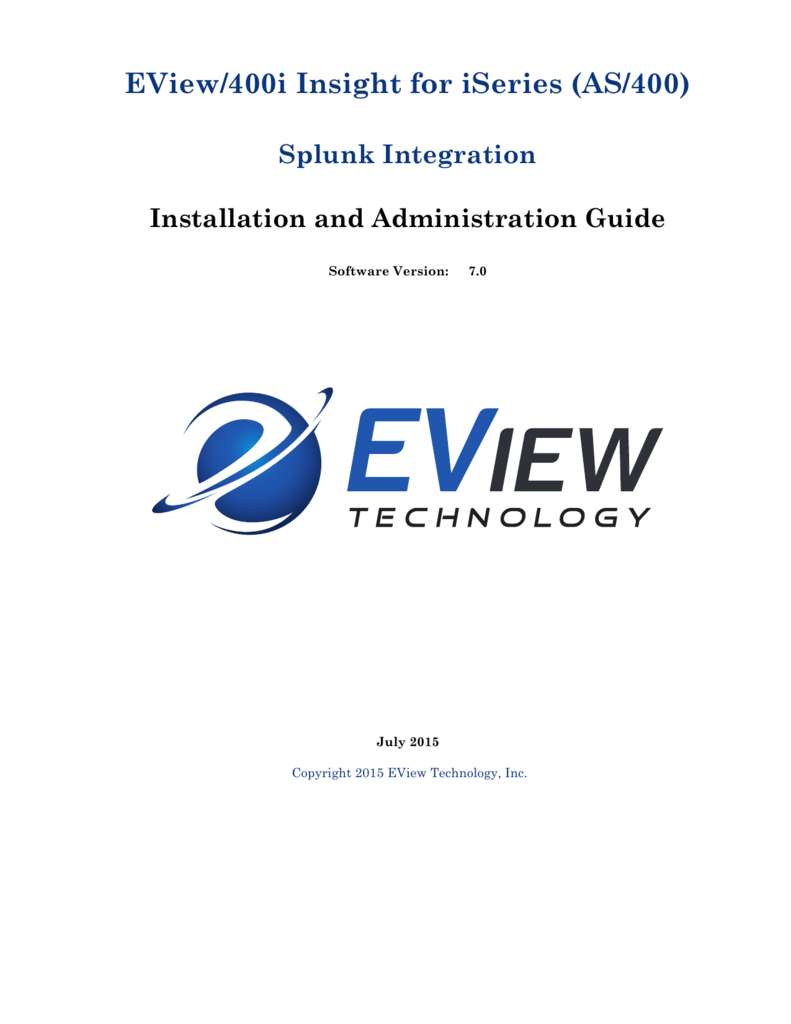 EView/400i Insight for iSeries (AS/400)