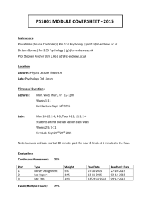 ps1001 module coversheet - 2015