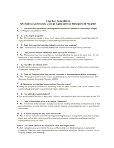 Top Ten Questions About Chemeketa Community Colleges Farm