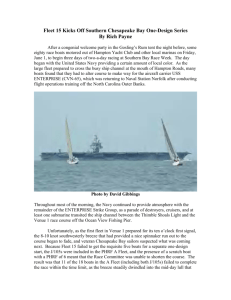Fleet 15 Kicks Off Southern Chesapeake Bay One