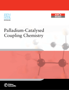 Palladium-Catalysed Coupling Chemistry