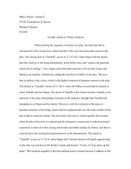 tartuffe study guide essay example Tartuffe resource guide april 7-9 & 14-16 @ 8pm april 10, 16, & 17 @ 2pm high school matinee april 18 at 10 am klein theatre, university of mary washington fredericksburg, va.