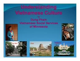 Understanding of Vietnamese Culture