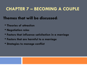 chapter 7 – becoming a couple - individual