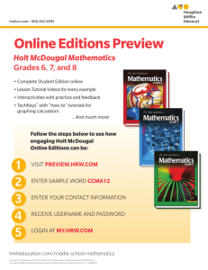 Online Editions Preview - Sentinel Elementary School