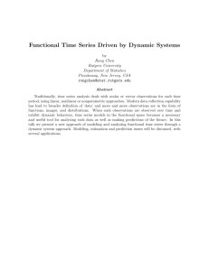 Functional Time Series Driven by Dynamic Systems