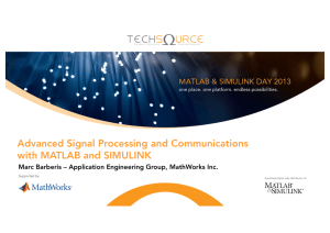 Advanced Signal Processing & Communications