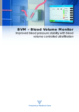 Blood Volume Monitor - Fresenius Medical Care