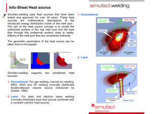 Info-Sheet Heat source