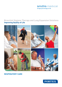Bronchial Hygiene Therapy and Lung Expansion Solutions