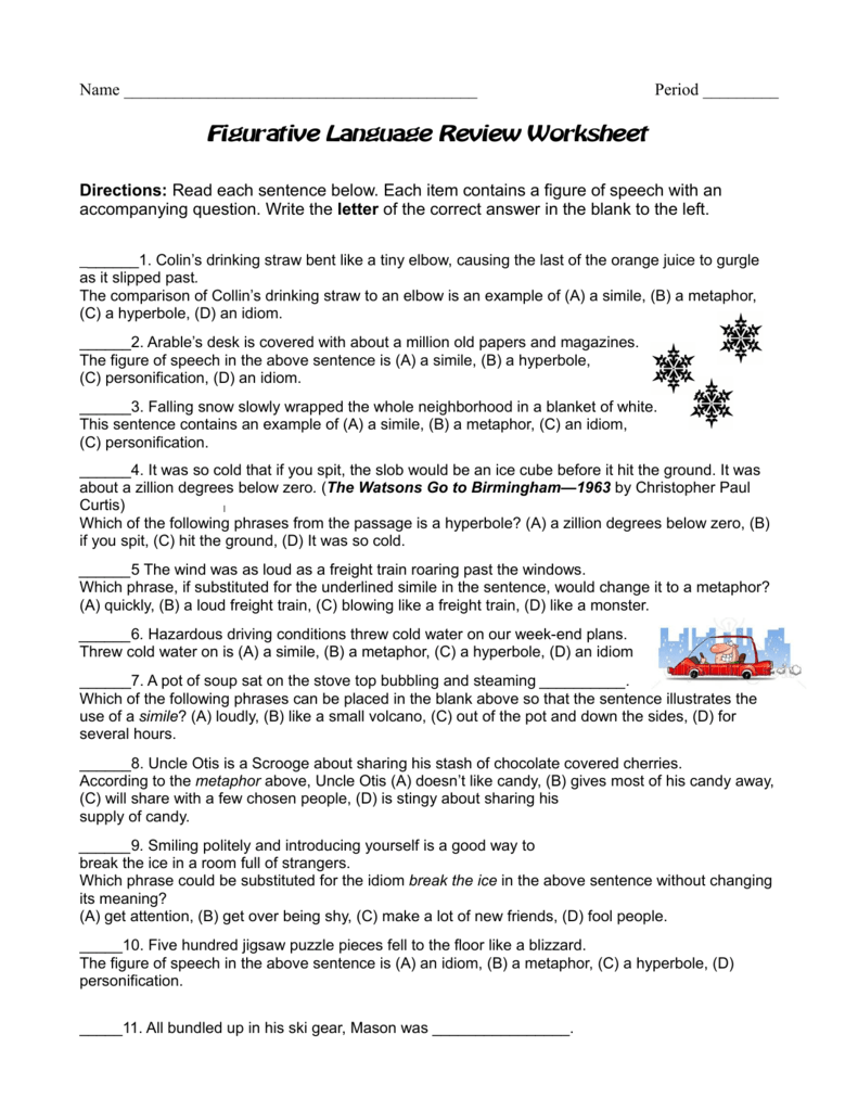 Worksheets Figurative Language Review Worksheet figurative language review worksheet 008338346 1 937766b1a21badae70a2421d76e5bc68 png