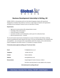 Global Voices: Business Development Internship